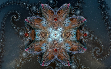 The Return of the Five-Dimensional Serpent God 2015 (digital photomontage)