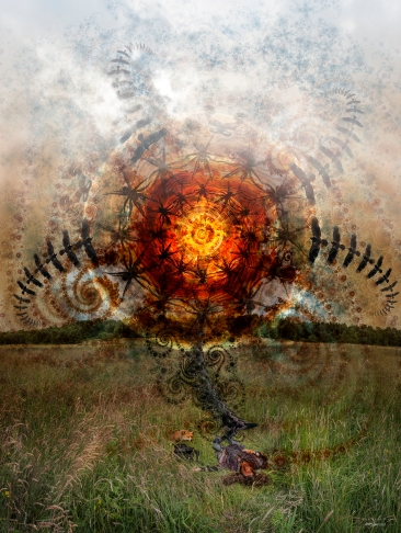 Trial Ritual 2015 (digital photomontage)
