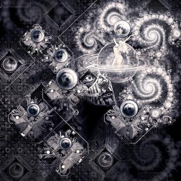 Witness to the Dance of Aquarius 2014 (digital photomontage)