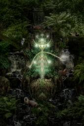 Nature Spirit 2017 (digital photomontage)
